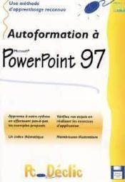 Autoformation A Powerpoint 97 - Couverture - Format classique