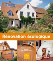 Renovation Ecologique - Couverture - Format classique