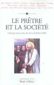 Pretre Et La Societe - Intérieur - Format classique