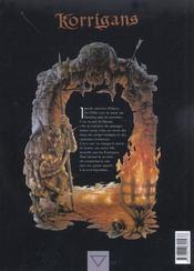Korrigans t.2 ; guerriers des ténèbres - 4ème de couverture - Format classique