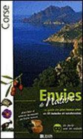 Corse, envies de nature - Couverture - Format classique