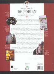 President De Robien Gentilhomme Et Savant Dans La Bretagne Des Lumieres - 4ème de couverture - Format classique