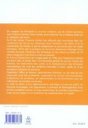 Le tourisme - service public et enjeu economique - 4ème de couverture - Format classique