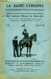 Bulletin De La Societe Amicale De Secours Des Anciens Eleves De Saint Cyr N°53 - Couverture - Format classique