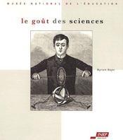 Le goût des sciences - Intérieur - Format classique