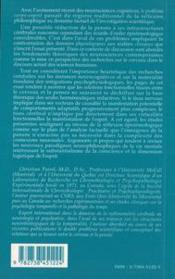 Le cerveau et la pensée ; critique des fondements de la neurophilosophie - 4ème de couverture - Format classique
