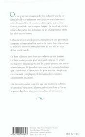 La vie des enfants dans la France d'autrefois - 4ème de couverture - Format classique