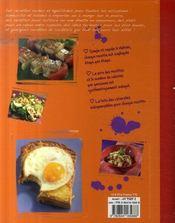 220 recettes faciles et pas chères pour étudiants - 4ème de couverture - Format classique