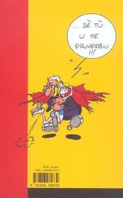 Pruverbii e altri detti... proverbes, adages et autres dits - 4ème de couverture - Format classique