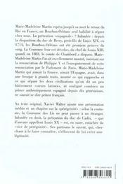 Les francais auront-ils un roi espagnol ? 2eme edition - 4ème de couverture - Format classique
