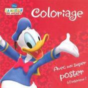 Coloriage ; la maison de Mickey - Couverture - Format classique