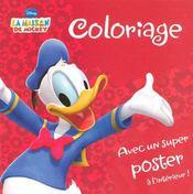 Coloriage ; la maison de Mickey - Intérieur - Format classique