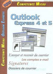 Competence Micro ; Outlook Express 4 Et 5 - Intérieur - Format classique