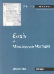Essais De Michel Seigneur De Montaigne - Intérieur - Format classique