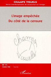 L'image empêchée du côté de la censure (édition 1998) - Couverture - Format classique