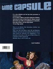 Time capsule - 4ème de couverture - Format classique
