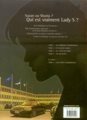 Lady S. t.4 ; jeu de dupes - 4ème de couverture - Format classique