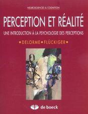 Perception Et Realite - Intérieur - Format classique