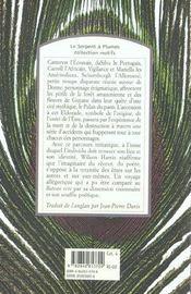 Le palais du paon - 4ème de couverture - Format classique