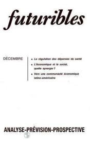 Futuribles No105 Decembre 1986 - Couverture - Format classique
