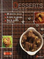 Desserts faciles - Intérieur - Format classique