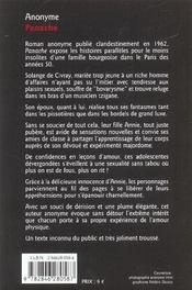 Panache - 4ème de couverture - Format classique