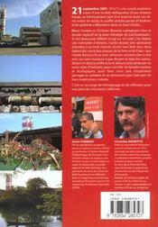 Toulouse chronique d'un desastre annonce - 4ème de couverture - Format classique