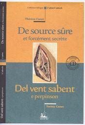 De Source Sure Et Forcement Secrete ; Del Vent Sabent E Perpinson - Intérieur - Format classique