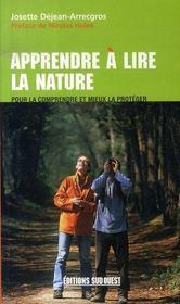 Apprendre à lire la nature - Intérieur - Format classique