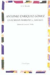 Antonio Enriquez Gomez - Intérieur - Format classique