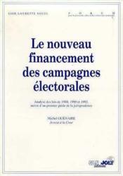 Financement campagnes elector. - Couverture - Format classique