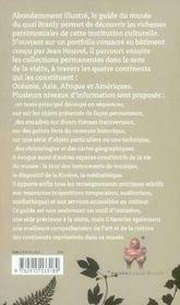 Le Guide Du Musee Du Quai Branly - 4ème de couverture - Format classique