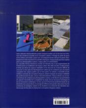 Places contemporaines ; espace public - 4ème de couverture - Format classique