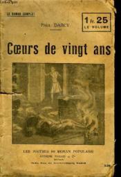 Coeurs De Vingt Ans. - Couverture - Format classique