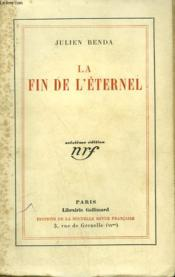 La Fin De L'Eternel. - Couverture - Format classique