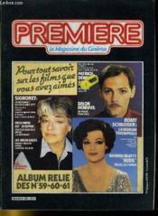 Premiere Album N°20 - 3 Numeros Introuvables - Album Relie Des N°59 - 60 - 61 - Couverture - Format classique
