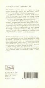 Le Chercheur De Traces - 4ème de couverture - Format classique