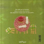 Le Renard Et La Cigogne - 4ème de couverture - Format classique