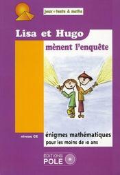 Lisa et Hugo mènent l'enquête - Intérieur - Format classique