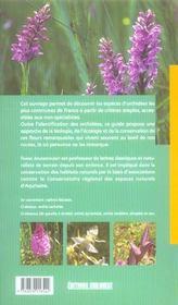 Aed guide des orchidees communes de france - 4ème de couverture - Format classique