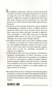 Cristallographie(s) - 4ème de couverture - Format classique