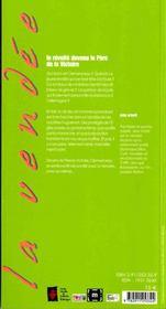 Clémenceau le vendéen - 4ème de couverture - Format classique