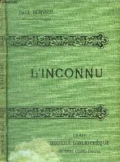 L'Inconnu. - Couverture - Format classique