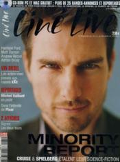CINE LIVE - N° 61 - MINORITY REPORT - Tom Cruise & Spielberg étalent leur science-fiction - Couverture - Format classique