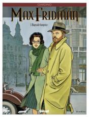 Max fridman t.1 ; rhapsodie hongroise - Couverture - Format classique