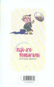 Niji-iro tohgarashi t.9 - 4ème de couverture - Format classique