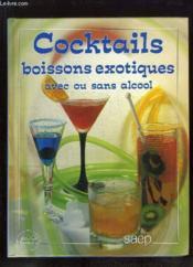 Cocktails bois.exotiques - Couverture - Format classique