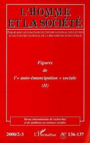 L'Homme Et La Societe N.137 ; Figures De L'Auto-Emancipation Sociale - Couverture - Format classique
