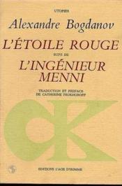 Etoile Rouge.L'Ingenieur Menni (L') - Couverture - Format classique