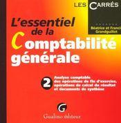 Essentiel De La Comptabilite Generale T2 (L') - Intérieur - Format classique